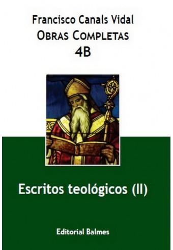 Escritos Teologicos II vol 4B