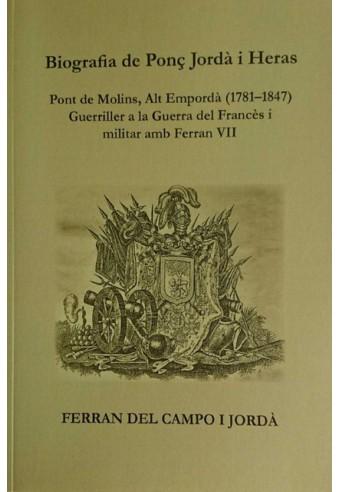 Biografia de Ponç Jordà i Heras